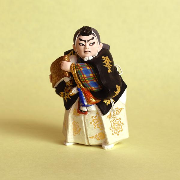 博多人形 歌舞伎のデフォルメ