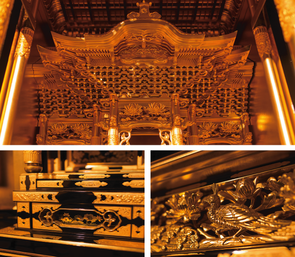 八女仏壇 細部へのこだわり