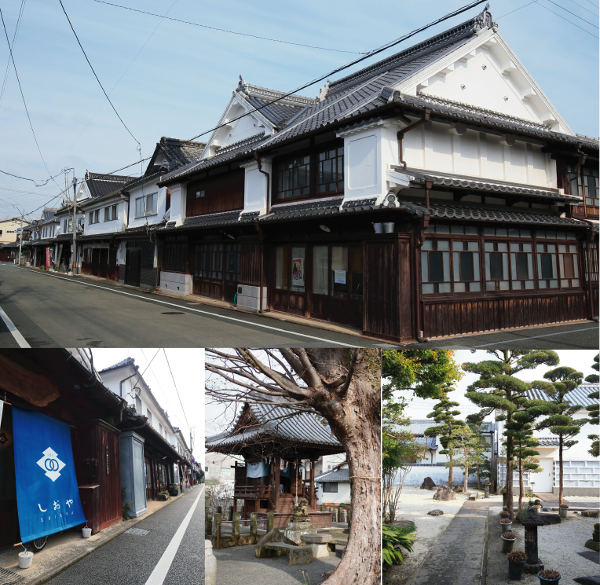 八女福島仏壇 城下町